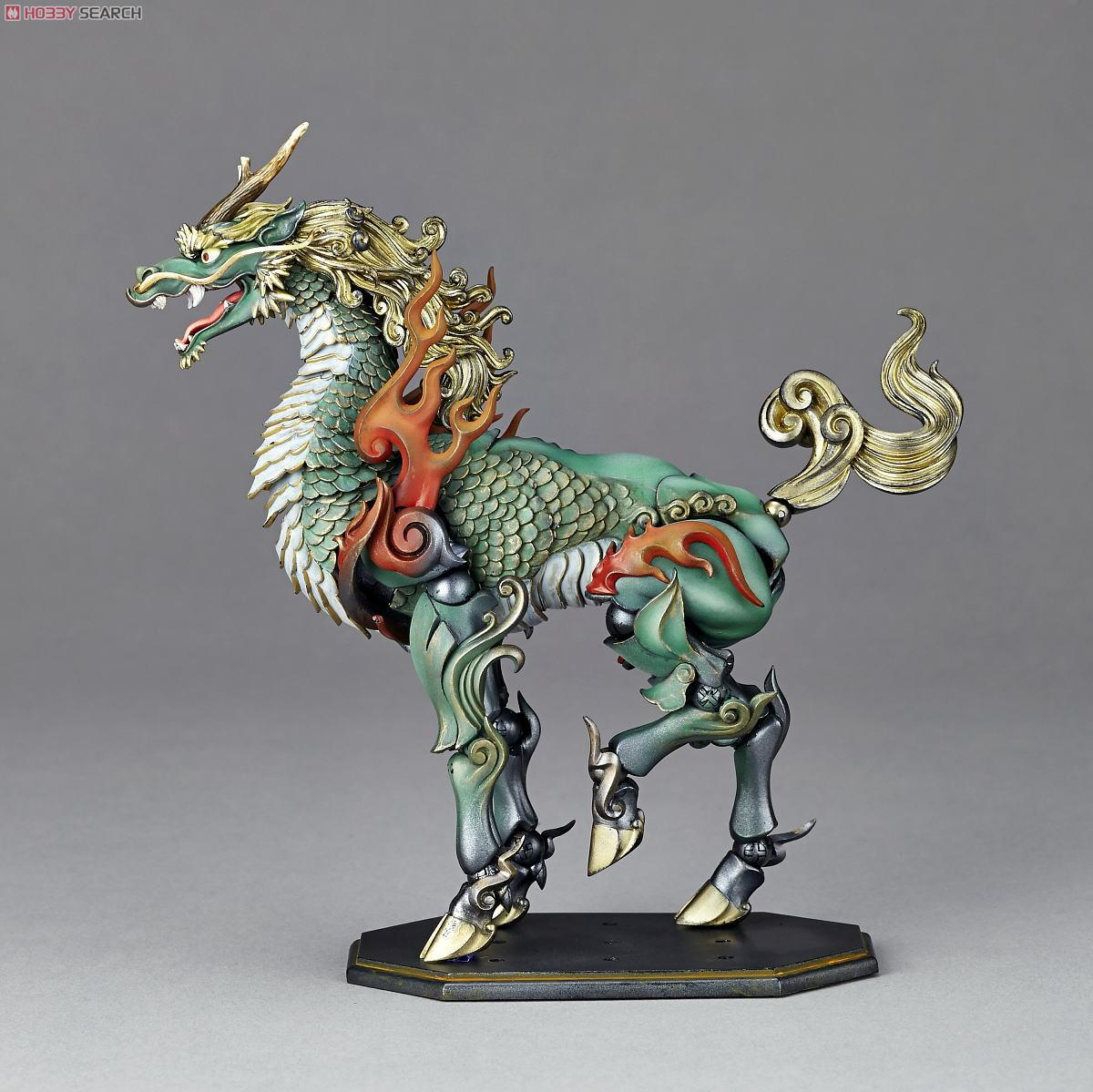 KT Project KT-002 [Takeya Freely Figure] Qilin Color Edition (Completed) Other picture5
