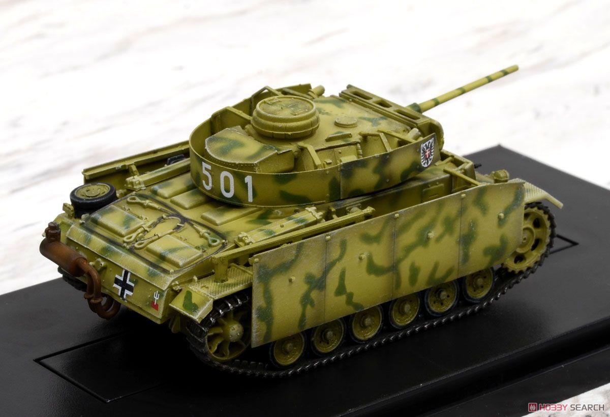 WW.II ドイツ軍 III号戦車M型 w/シュルツェン ドイツ第2装甲師団 第3戦車連隊 1943年クルスク (完成品AFV) 商品画像3