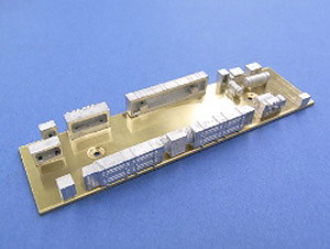 1/80(HO) Under Floor Parts for Moha103 Air-Conditinered Car (Model Train)