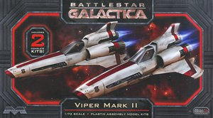 Battlestar Galactica Colonial Viper Mk.II (Set of 2) (Plastic model)