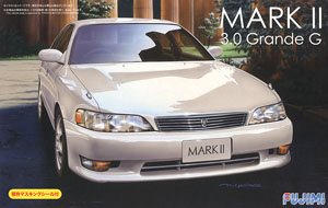 Toyota Mark.II 3.0 Grande G w/Window Frame Masking (Model Car)