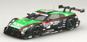 D`station ADVAN GT-R SUPER GT500 2014 Rd.2 Fuji No.24 (ミニカー)
