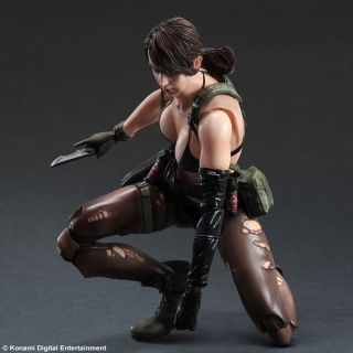 Metal Gear Solid V The Phantom Pain Play Arts Kai Quiet Figure Toy Doll IN STOCK