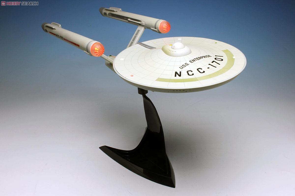 スタートレック TOS 宇宙大作戦 U.S.S.エンタープライズNCC-1701 (完成品)