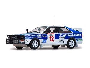 アウディ クアトロ A2 1984年サファリラリー #12 F.Wittmann/P.Diekmann (ミニカー)