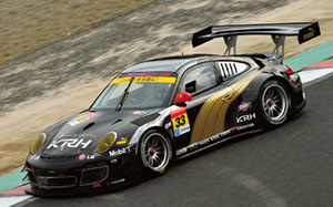 PUMA KRH PORSCHE SUPER GT300 2014 No.33 (Black) (ミニカー)