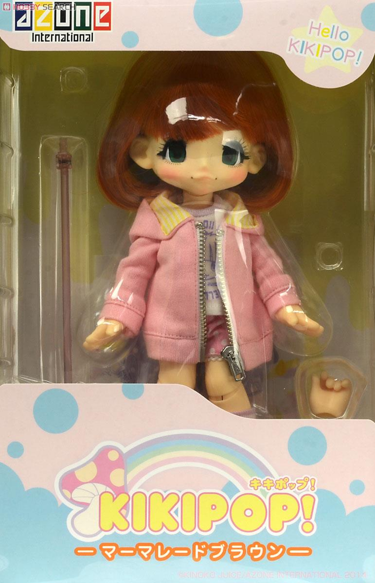 Hello KIKIPOP! / Marmalade Brown (Fashion Doll) Package1