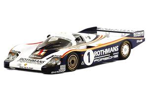 ポルシェ 956 #1 ロスマンズ1982 ル・マン24h 優勝車 J・イクス/D・ベル (ミニカー)