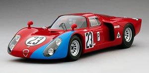 アルファロメオ Tipo 33/2 #23 1968 デイトナ24h M・アンドレッティ/L・ビアンキ (ミニカー)