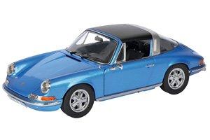ポルシェ 911 S メタリックブルー (ミニカー)