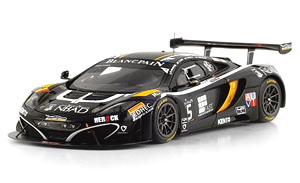 マクラーレン 12C GT3 #15 ブーツェン・ジニオン・レーシング 2014 スパ・フランコルシャン24h (ミニカー)