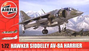 ホーカーシドレー ハリアー AV-8A (プラモデル)