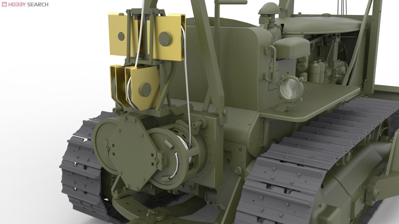 アメリカ軍トラクター アングルドーザーブレード付 (プラモデル) 画像一覧
