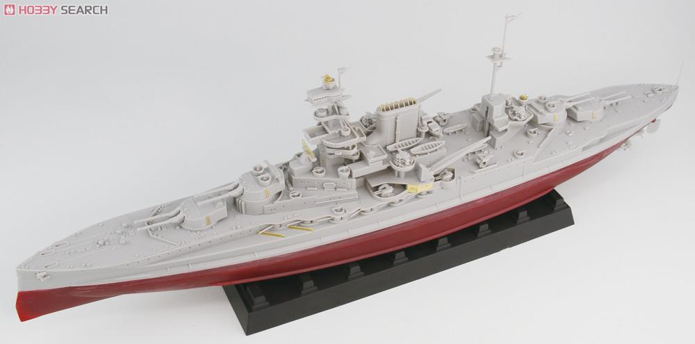 英国海軍 クイーン・エリザベス級 戦艦 マレーヤ 1943 (プラモデル)