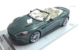 Aston Martin Vanquish Volante Cabriolet Apple Tree Green White Interior Diecast Car Hobbysearch Diecast Car Store
