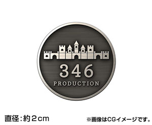Idolmaster Cinderella Girls Anime 346 Production Sticker Set