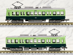 The Railway Collection Keihan Electric Railway Otsu Line Type 600 1st Edition (2-Car Set) (Model Train)