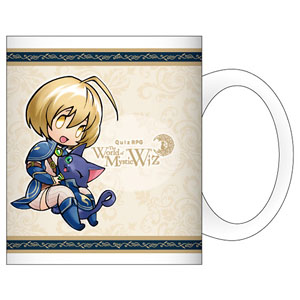 Wiz Quiz Rpg Witch And Black Cat 2nd Anniversary Mug Cup Anime Toy