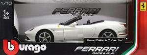 フェラーリ カリフォルニア (オープントップ) ホワイト (ミニカー)