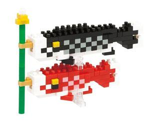 nanoblock 鯉のぼり (ブロック)