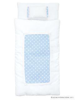 1 6 Pastel Dot Futon Set Pillow Duvet