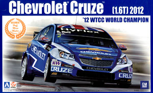 Chevrolet Cruze (1.6T) `12 WTCC World Champion (Model Car)