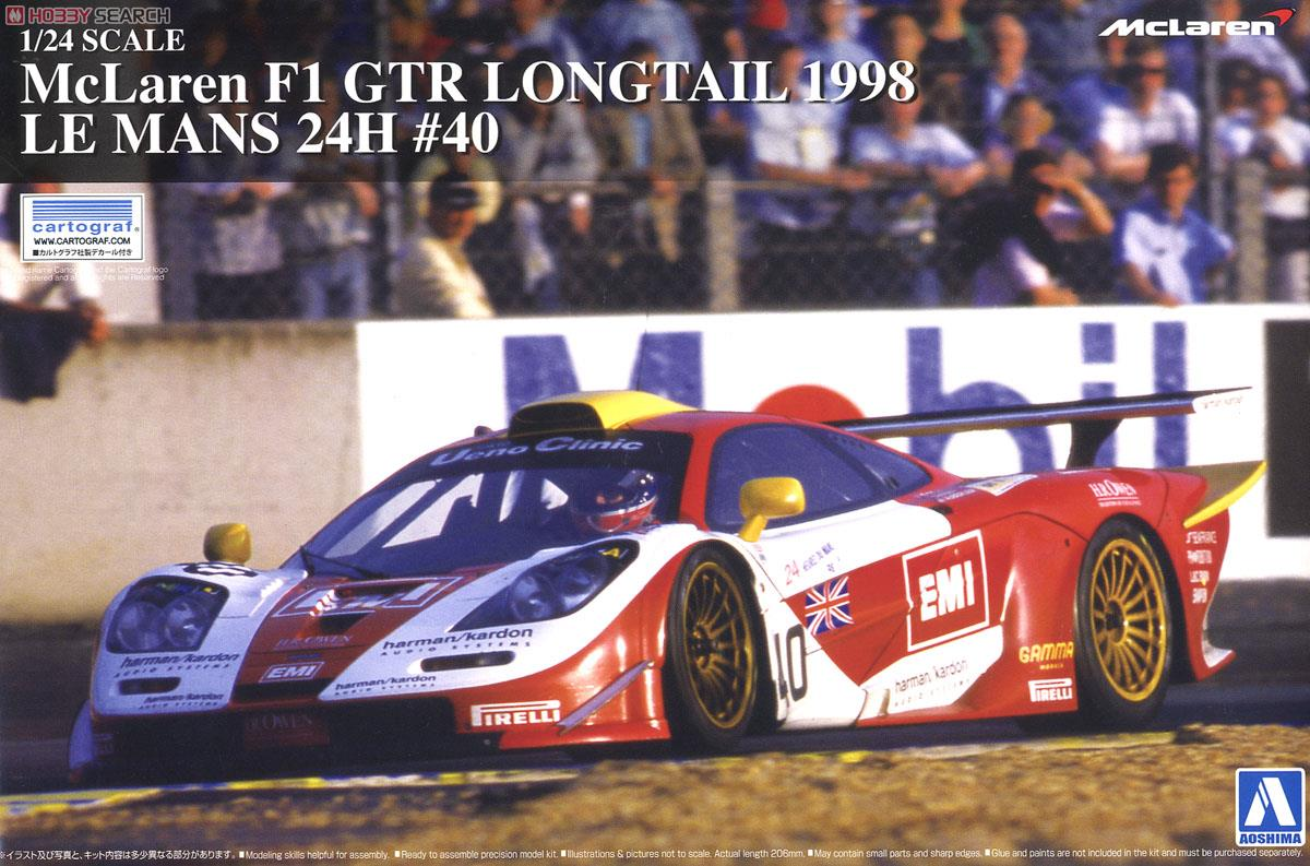 Toyota Camry Police Car >> McLaren F1 GTR Long Tail 1998 Le Mans 24 Hours #40 (Model Car) Images List
