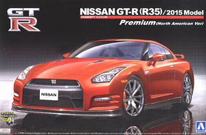 NISSAN GT-R (R35) Premium 2015 Model (North America) (Model Car)