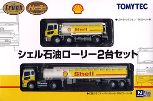 ザ・トラックトレーラーコレクション シェル石油ローリー 2台セット
