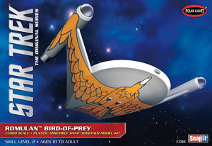 Star Trek Romulan Bird of Prey (Plastic model)