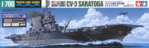 アメリカ海軍 航空母艦 CV-3 サラトガ (ポントスモデル社製ディテールアップパーツセット付き) (プラモデル)