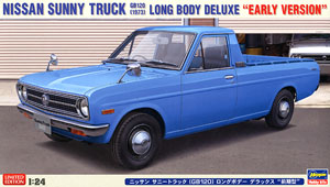 Nissan Sunny Truck (GB120) Long Body Deluxe (Early Type) (Model Car)