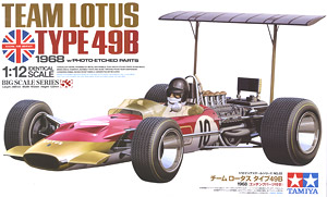 Team Lotus type 49B w/Etched Parts (Model Car)