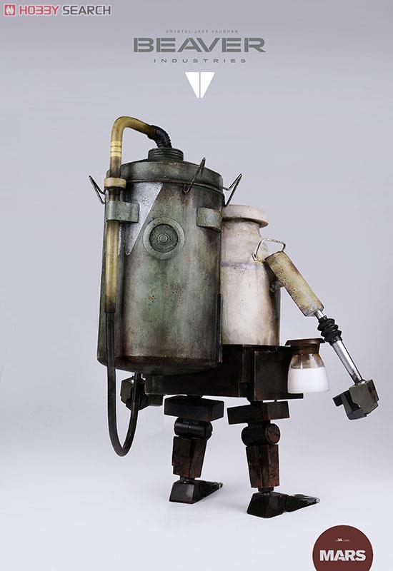 ThreeAから工業酪農ロボ「ミルキーボット」が登場。君の元へミルクを補充しにやってくる!