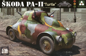Skoda PA-II `Turtle` (Plastic model)