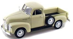 Chevrolet 3100 Pick-Up 1953 Cream WELLY 1:24 WE22087CR