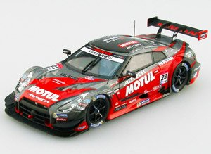 MOTUL AUTECH GT-R SUPER GT500 2014 No.23 Champion Car (Red) (ミニカー)