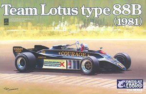 Team Lotus Type 88B 1981 (Model Car)