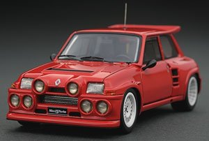 Renault 5 MAXI turbo Red (ミニカー)