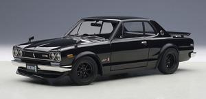 日産 スカイライン GT-R (KPGC10) チューンド・バージョン (ブラック) (ミニカー)