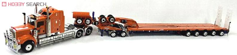 Kenworth C509 Truck with 5x8 Swingwing & 2x8 Dolly (ドレイクオレンジ) (ミニカー) 商品画像1