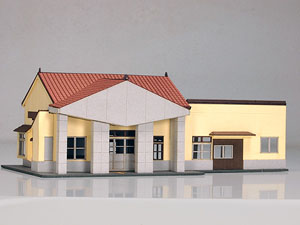 1/150 Scale Paper Model Kit Station Series 07 : Local