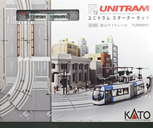 Unitram Starter Set Toyama Light Rail TLR0600 (TLR0606 (Green) + [V50]) (Model Train)