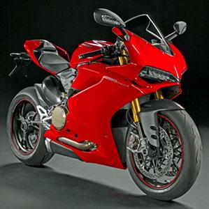 ドゥカティ パニガーレ 1299 S (Ducati red /ドゥカティレッド) 組立キット (ダイキャスト製、塗装済ボディ) (ミニカー)