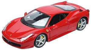 フェラーリ 458 イタリア (レッド) (ミニカー)