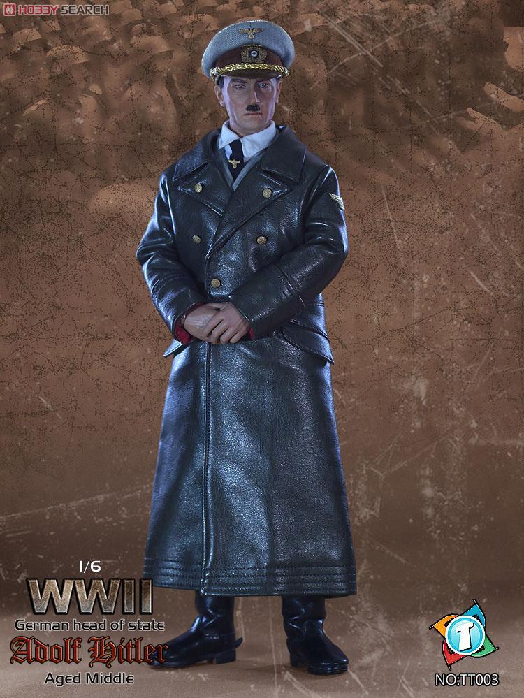 「ヒトラー」のフィギュアが発売。中年版と老年版の2種