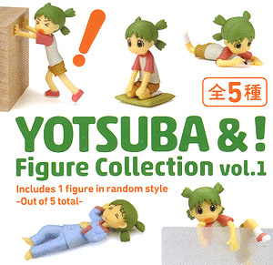 [Yotsuba&!] Figure Collection vol.1 10 pieces (PVC Figure)