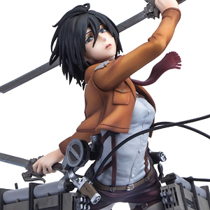 Hdge Technical Statue No.5 Attack on Titan Mikasa Training Corps Ver. (PVC Figure)