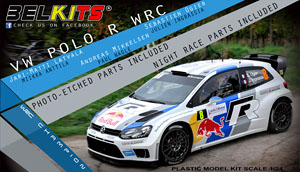Belkits No.5 Volkswagen Polo R WRC (Model Car)