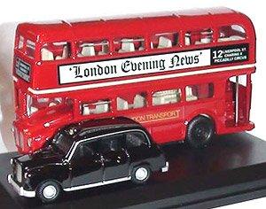 fcafe22ba OO) London Bus and London Taxi Gift Set (Model Train) - HobbySearch ...